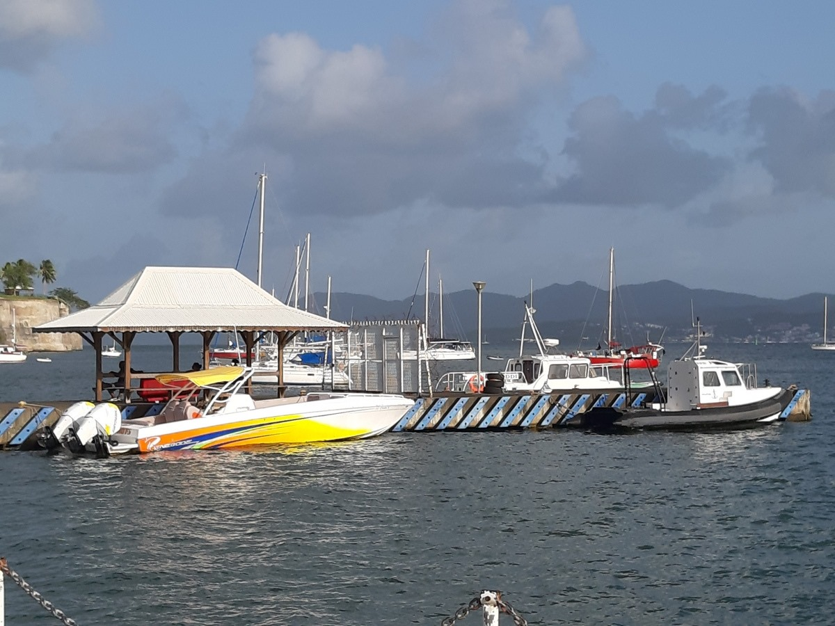 balade bateau martinique